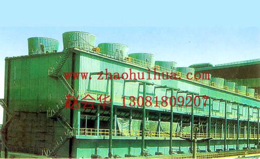 1,系统阻力小,气流风量大: 本系列冷却塔因无填料并增加了冷却塔导流